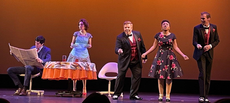 A Delightful Night at the Opera:  Trouble in Tahiti, Señor Delusa!!