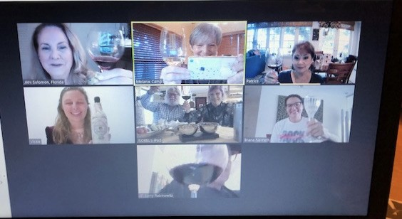 Our Second ZOOM Wine Tasting!!